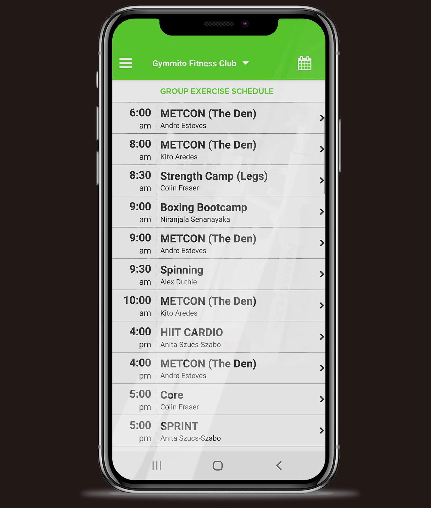 Gymmito Mobile Application